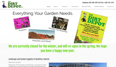 Venda Solutions - Dirt Depot Site