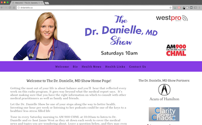 Venda Solutions - Dr Danielle Site