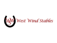 west wind stables logo